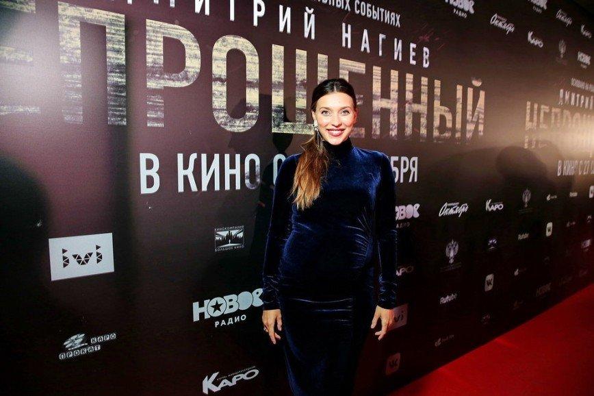 """Беременная Регина на вечеринке """"Человек года 2018"""""""