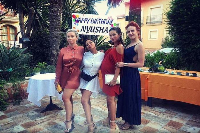 День рождения певицы Нюши