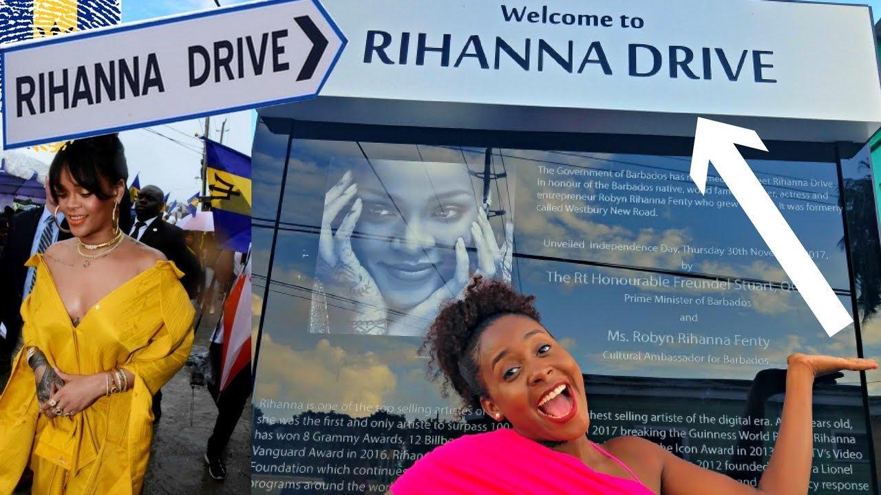 Рианна вступила в должность посла Барбадоса