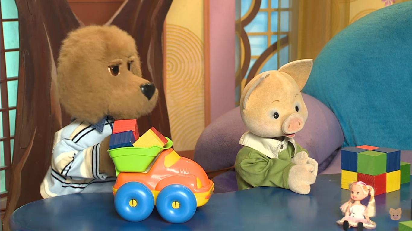 Тимур Родригез в детской передаче