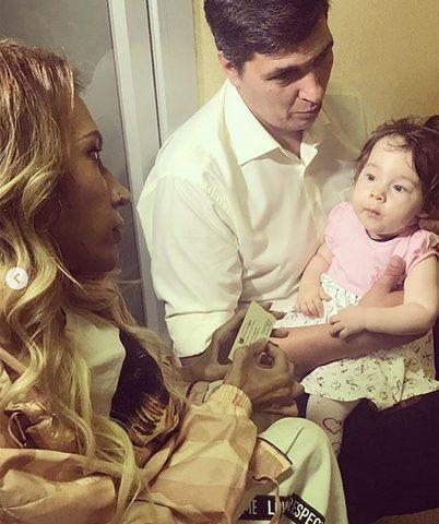 Дочь Юлии Самойловой